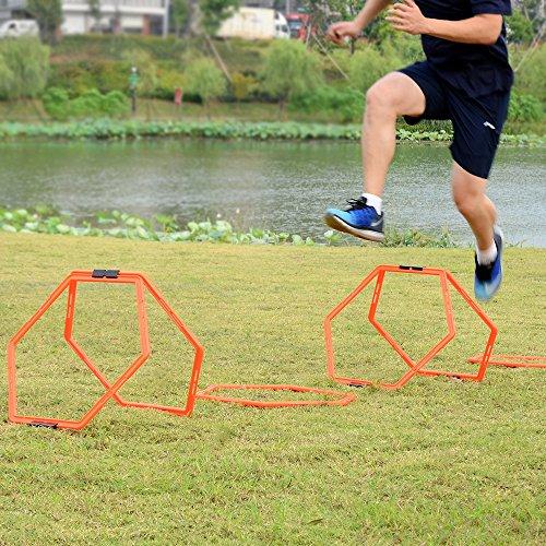 Sportneer Hexagonal Training Football Basketball