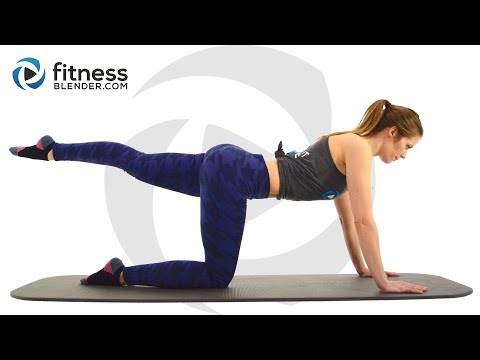 At Home Pilates Butt and Thigh Workout – Pilates Workout for Lower Body