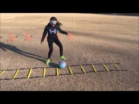 8 year old Soccer Athlete Speed and Agility MPS F.I.T. Training Session