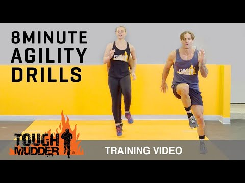 8 Min Agility Drills to Increase Speed and Endurance – Ep. 4 | Tough Mudder