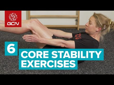 Emma's 6 Core Stability Exercises For Cyclists | Beginner Core Workout
