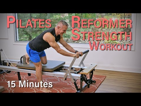 Pilates Reformer Strength Workout – 15 Minute