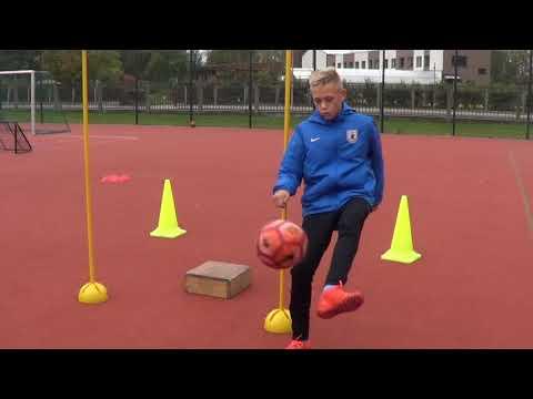 Football training drills • Speed, Reaction, Agility, Coordination, Finishing (HD)
