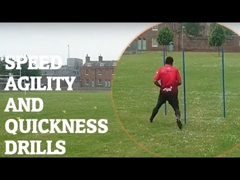 Rugby – Speed, Agility and Quickness Training and drills for Rugby Union and Rugby League