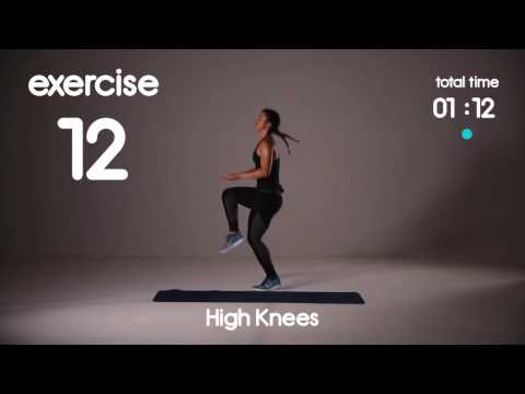 5 min Cardio HIIT Workout for Fat Loss – 40s/20s Intervals – Home Workouts