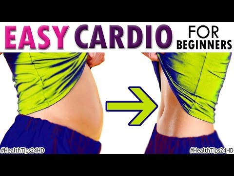 Easy Fat Burning Cardio Exercises For Beginners | HealthTips24HD