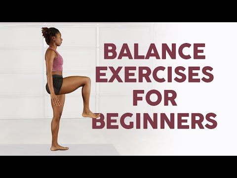 3 Simple Balance Exercises For Beginners
