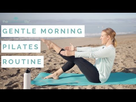 Gentle Morning Pilates Routine