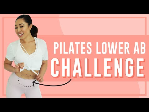 3-Minute Lower Belly Pilates Workout | POP Pilates Song Challenge!