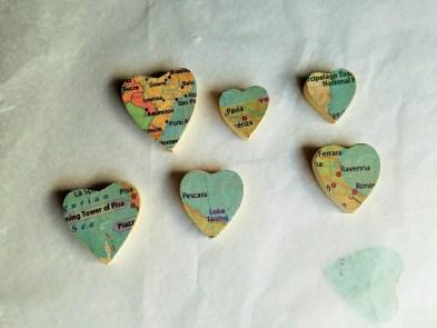 Wood Hearts 3