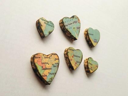 Wood Hearts 7