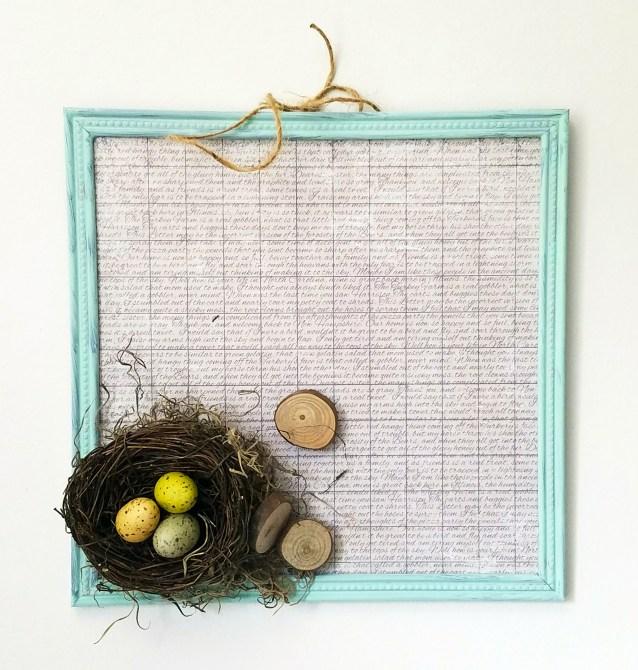 Birds Nest Frame 3