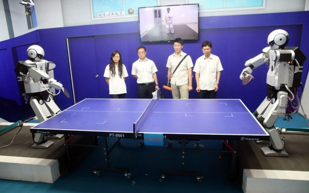 Table Tennis and Robotics 4