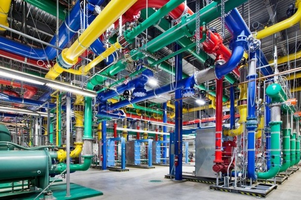 Take a Look – Google Data Centre 5