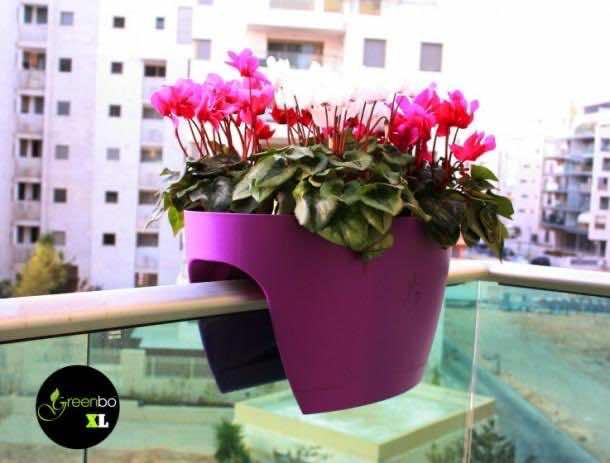 Balcony Handrail Planter