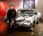 3D printed liquid metal Ford Turino