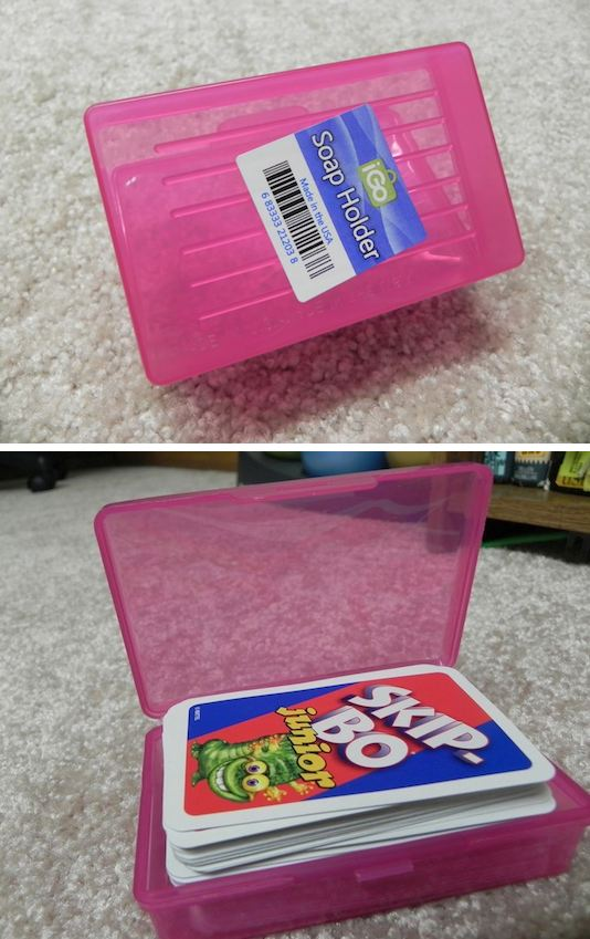 26. Soap Box Storage