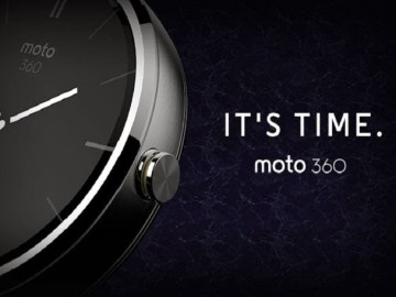 Moto 360 Smartwatch5