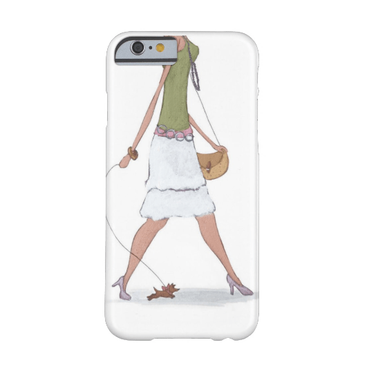 2. Fashion Girl iPhone 6 case