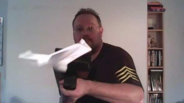 Fully Automated Airplane Firing 3D Printed Gun2