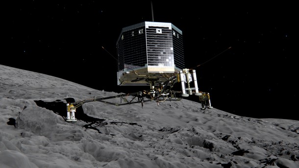 First Successful Landing on Comet4