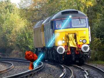Vaporize Leaves on Rail tracks - Laser Railhead Cleaner2