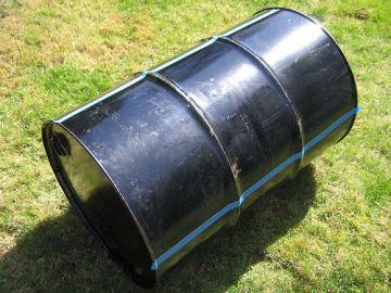 DIY barrel Bar Bq