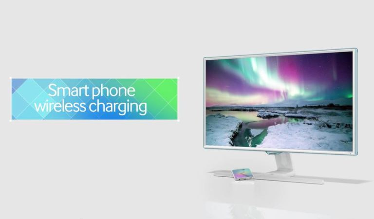 Samsung Has Designed A Monitor That Can Charge Your Phone Wirelessly