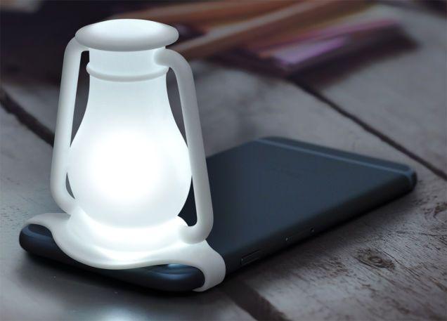 Travelamp Transforms Your Smartphone Into Night Light 4