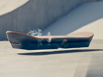 Lexus Hoverboard Works Using Magnetism 2