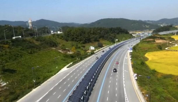Korean Solar Bike Lane Offers Shade 3