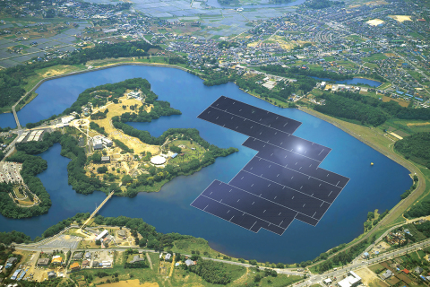 Japan Is Building The World's Largest Floating Solar Power Plant