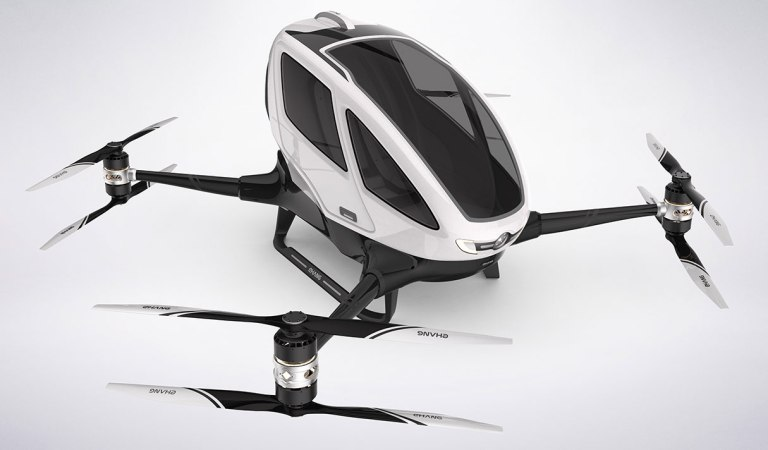 World's First Passenger Carrying Drone Gets Flight Testing Approval