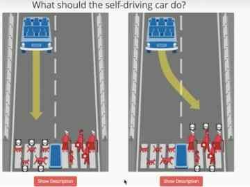 Self driving cars moral dilemma