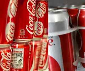 coca cola cans feces