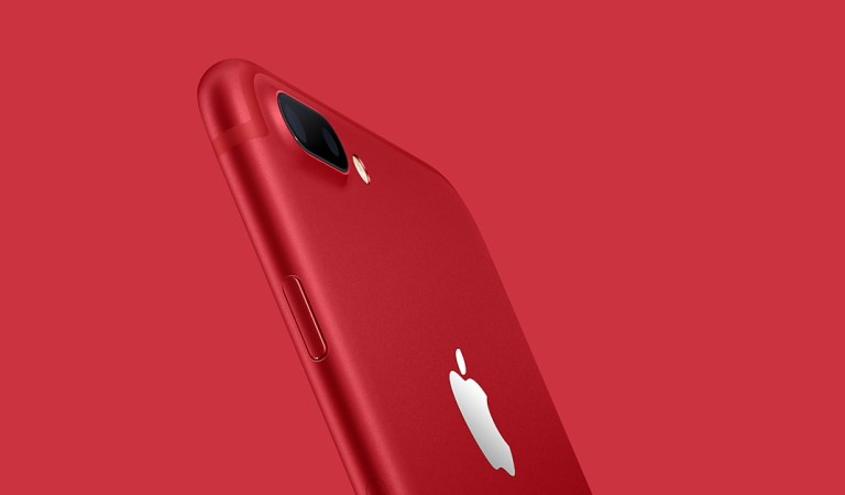 Apple Introduces A Special Edition Red iPhone To Help Fight Aids
