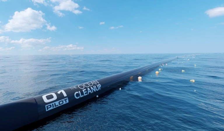 Redesigned Ocean Cleanup Arrays To Start Scooping Up Pacific Garbage Patch Within A Year