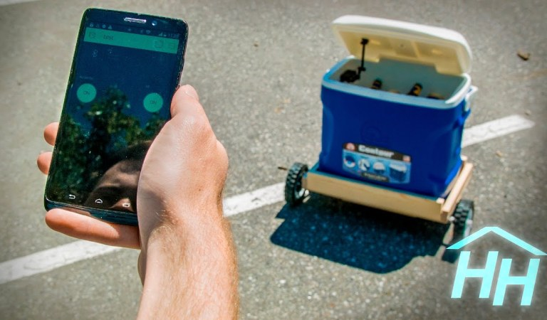 Here's How You Can Built Your Own Cooler That Follows You Around