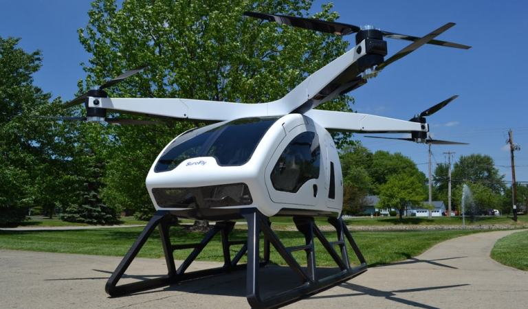 The Workhorse SureFly Is A Two Seater Sports Car For The Skies