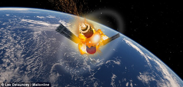 Crashing Chinese Space Station Filled With Toxic Chemicals Will Finally Hit Earth Next Week
