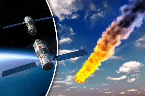 The Long Awaited Tiangong-1 Space Station Finally Makes Its Entry To Earth And Burns