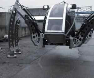 mantis robot six legged