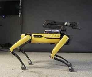 dancing robot from boston dynamics