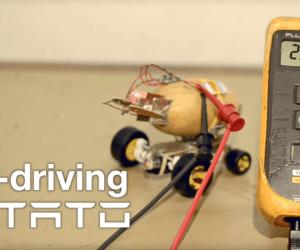 pontus self-driving potato