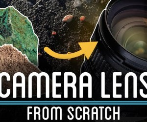 Learn How To Make Camera Lens From Sand & Rocks!