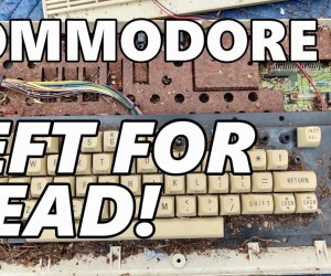 This Commodore 64 Had An Ant Colony In It But Was Revived!