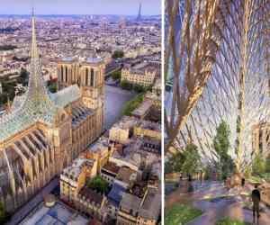 Vincent Callebaut Architectures Brings Solar Power To Notre Dame
