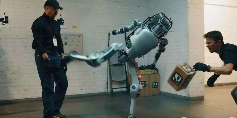 Corridor Digital Films The Revenge Of The Robot As It Beats Humans