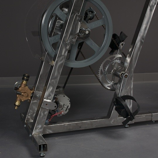The Pedal Power range comprises two models, dubbed Big Rig and Pedal Genny (Photo: Pedal P...