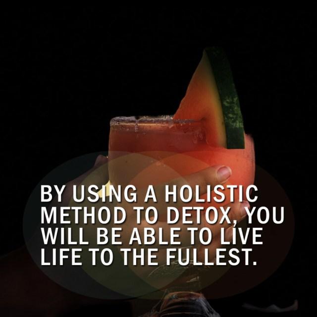 What Is Holistic Detox